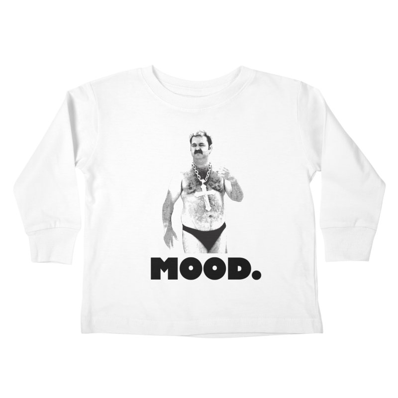 BIG MOOD. Kids Toddler Longsleeve T-Shirt by FWMJ's Shop