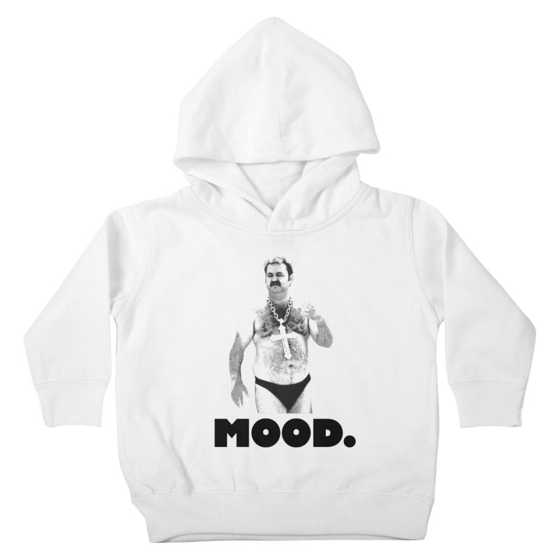 BIG MOOD. Kids Toddler Pullover Hoody by FWMJ's Shop