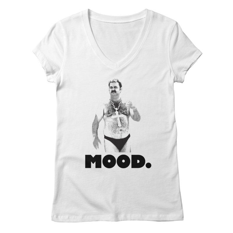 BIG MOOD. Women's V-Neck by FWMJ's Shop
