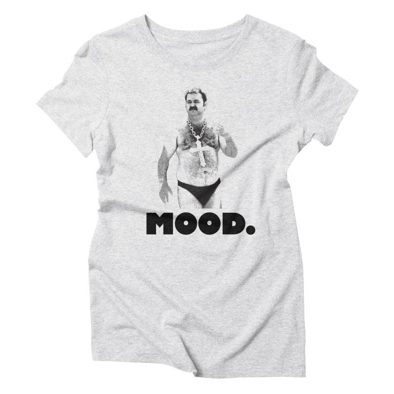 BIG MOOD. Women's Triblend T-Shirt by FWMJ's Shop