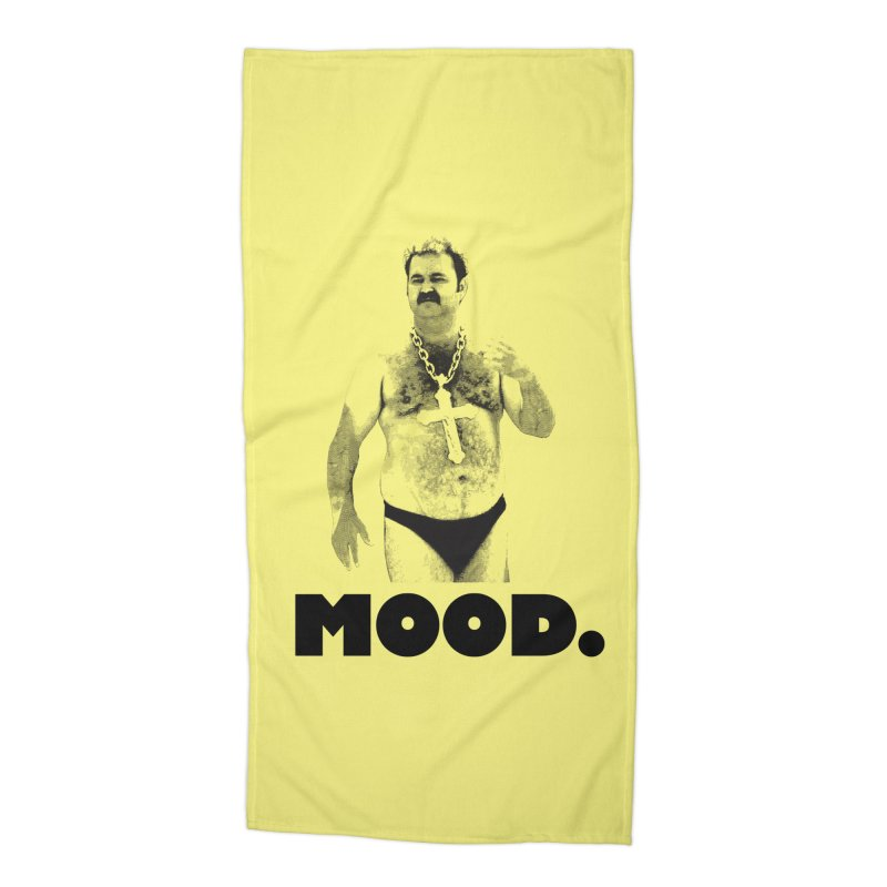 BIG MOOD. Accessories Beach Towel by FWMJ's Shop