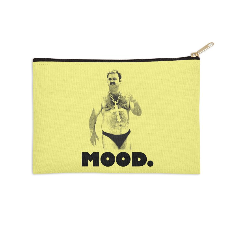 BIG MOOD. Accessories Zip Pouch by FWMJ's Shop