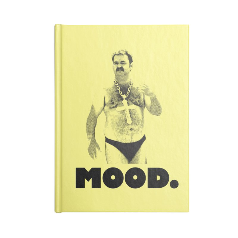BIG MOOD. Accessories Notebook by FWMJ's Shop