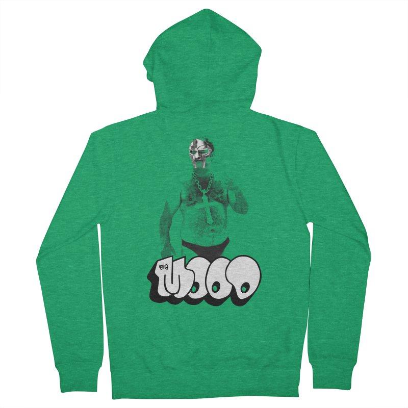 BIG MOOD. (DOOM) Men's French Terry Zip-Up Hoody by FWMJ's Shop