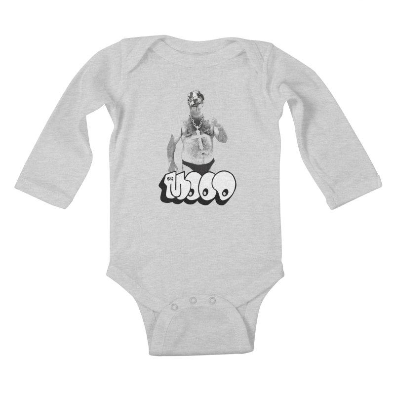 BIG MOOD. (DOOM) Kids Baby Longsleeve Bodysuit by FWMJ's Shop