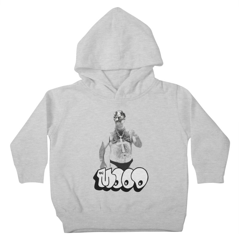 BIG MOOD. (DOOM) Kids Toddler Pullover Hoody by FWMJ's Shop
