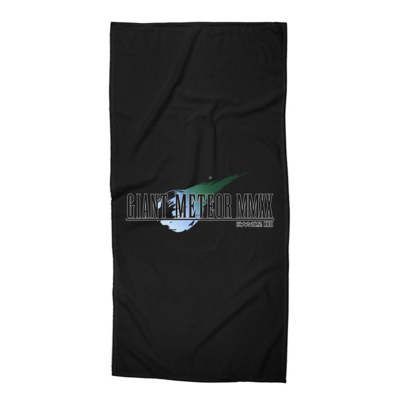 Giant Meteor MMXX Accessories Beach Towel by FWMJ's Shop