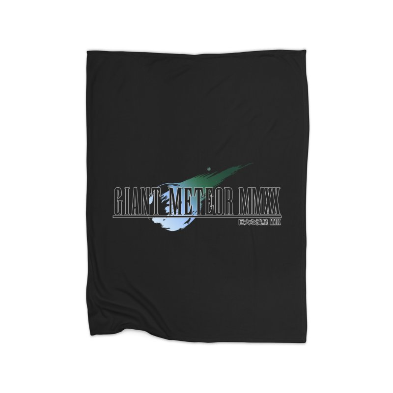 Giant Meteor MMXX Home Fleece Blanket Blanket by FWMJ's Shop
