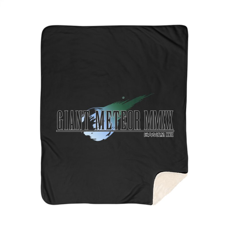 Giant Meteor MMXX Home Sherpa Blanket Blanket by FWMJ's Shop