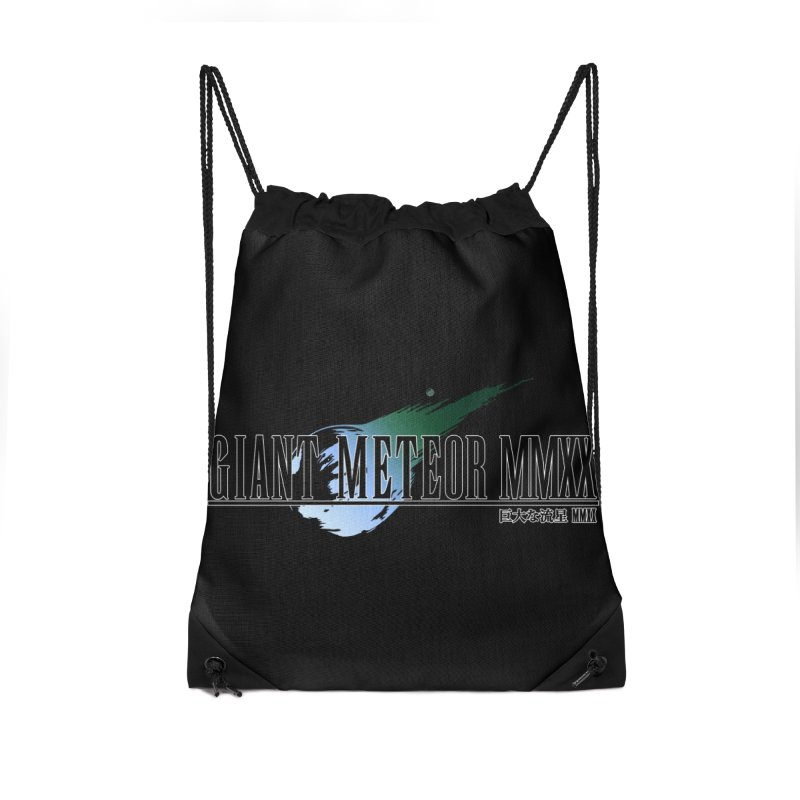 Giant Meteor MMXX Accessories Drawstring Bag Bag by FWMJ's Shop