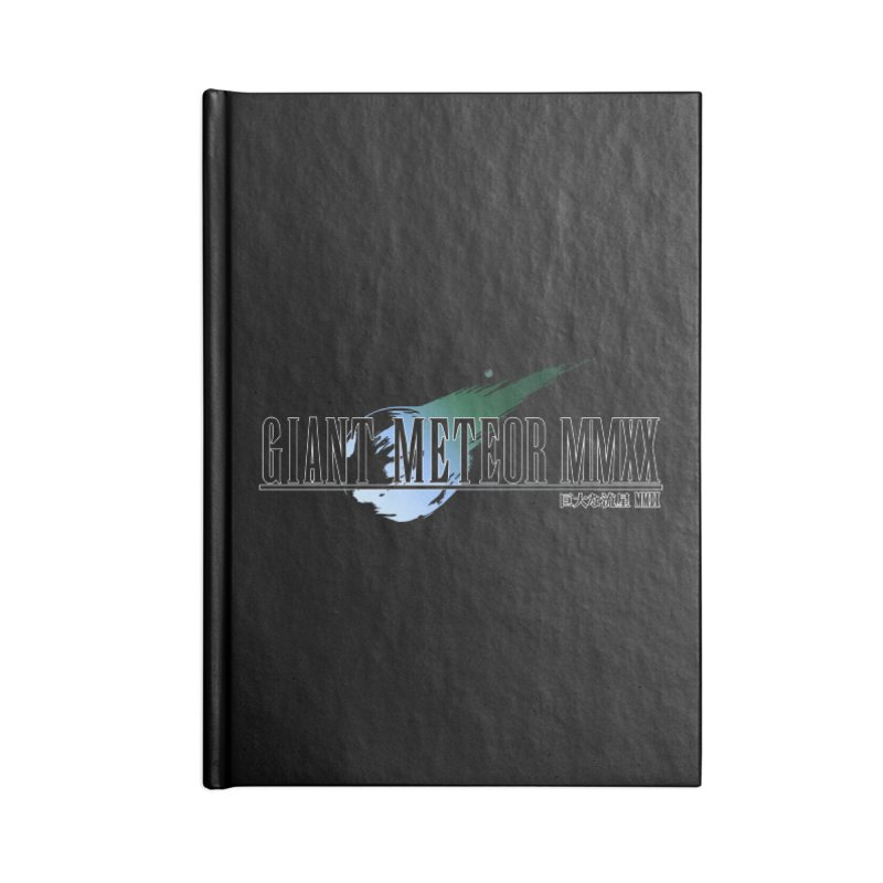 Giant Meteor MMXX Accessories Blank Journal Notebook by FWMJ's Shop