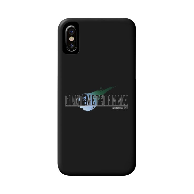 Giant Meteor MMXX Accessories Phone Case by FWMJ's Shop