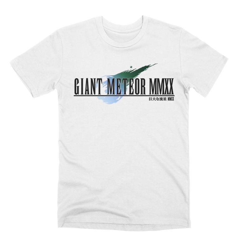 Giant Meteor MMXX Men's T-Shirt by FWMJ's Shop