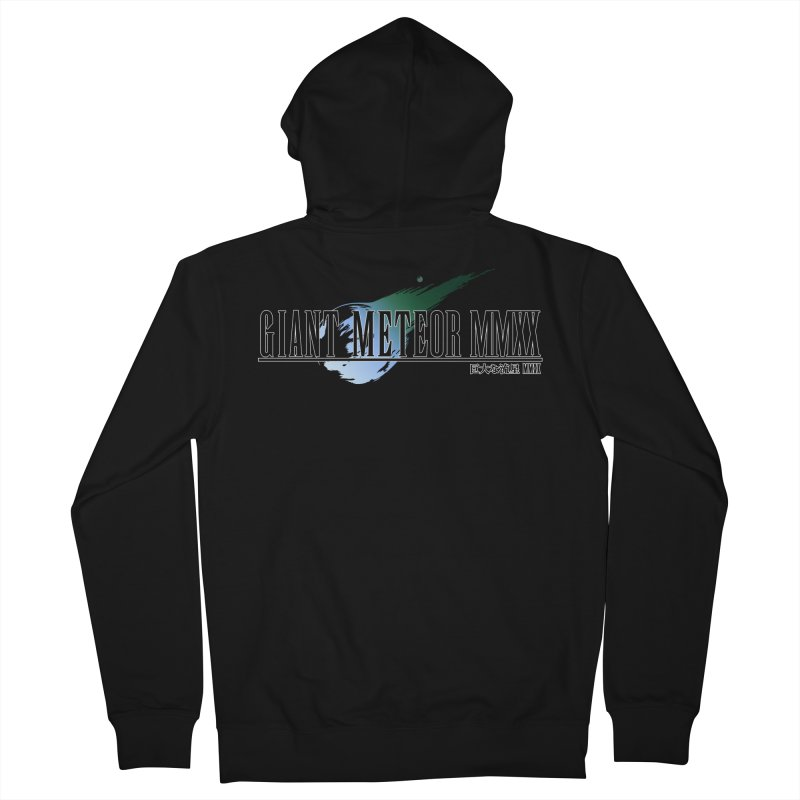 Giant Meteor MMXX Men's Zip-Up Hoody by FWMJ's Shop