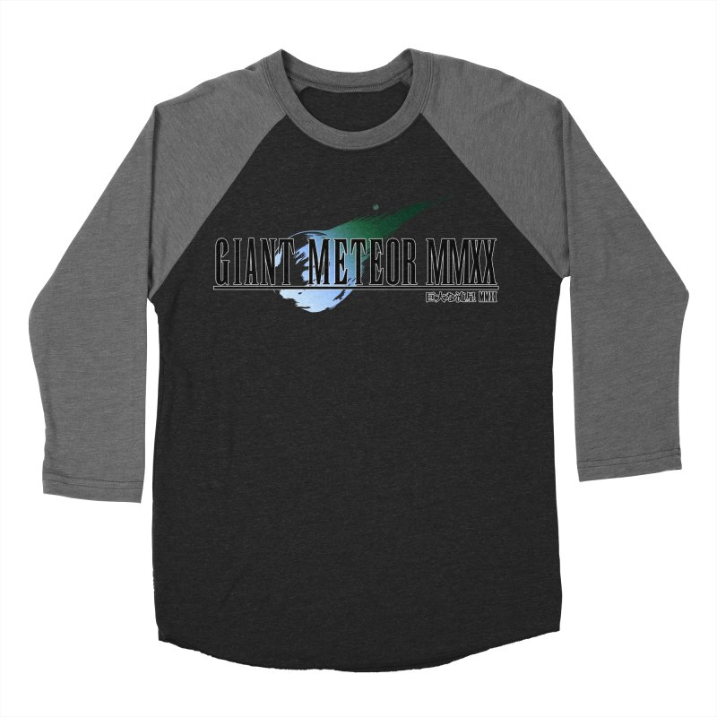 Giant Meteor MMXX Women's Baseball Triblend Longsleeve T-Shirt by FWMJ's Shop