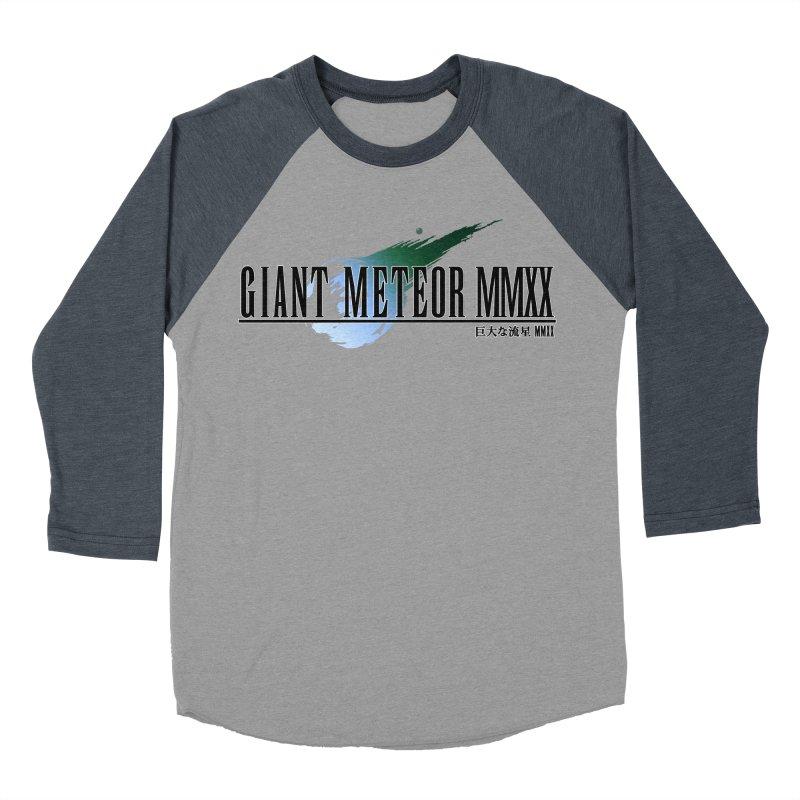 Giant Meteor MMXX Men's Baseball Triblend T-Shirt by FWMJ's Shop
