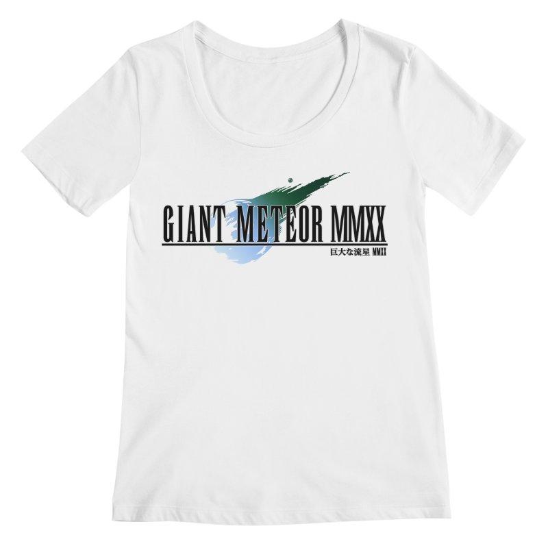 Giant Meteor MMXX Women's Scoopneck by FWMJ's Shop