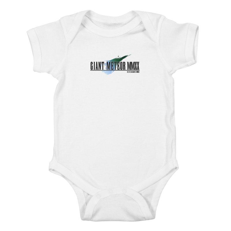 Giant Meteor MMXX Kids Baby Bodysuit by FWMJ's Shop