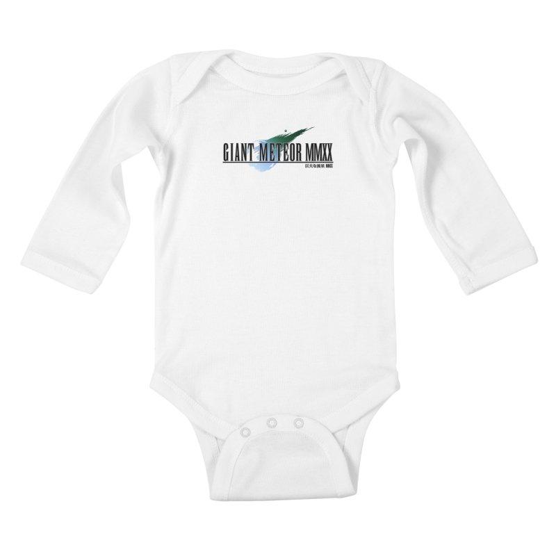 Giant Meteor MMXX Kids Baby Longsleeve Bodysuit by FWMJ's Shop
