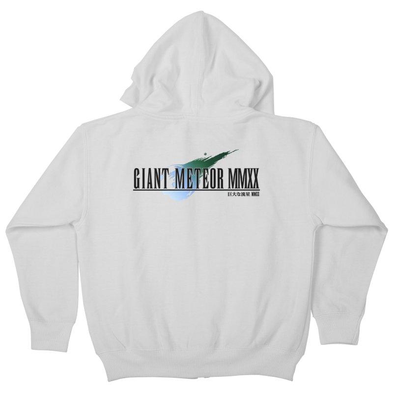 Giant Meteor MMXX Kids Zip-Up Hoody by FWMJ's Shop