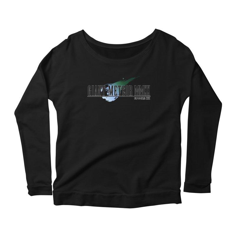Giant Meteor MMXX Women's Scoop Neck Longsleeve T-Shirt by FWMJ's Shop
