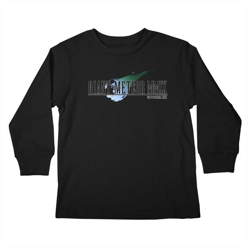 Giant Meteor MMXX Kids Longsleeve T-Shirt by FWMJ's Shop