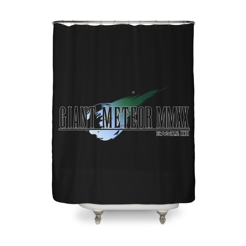 Giant Meteor MMXX Home Shower Curtain by FWMJ's Shop
