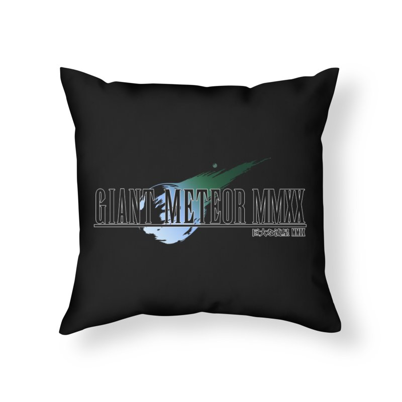 Giant Meteor MMXX Home Throw Pillow by FWMJ's Shop