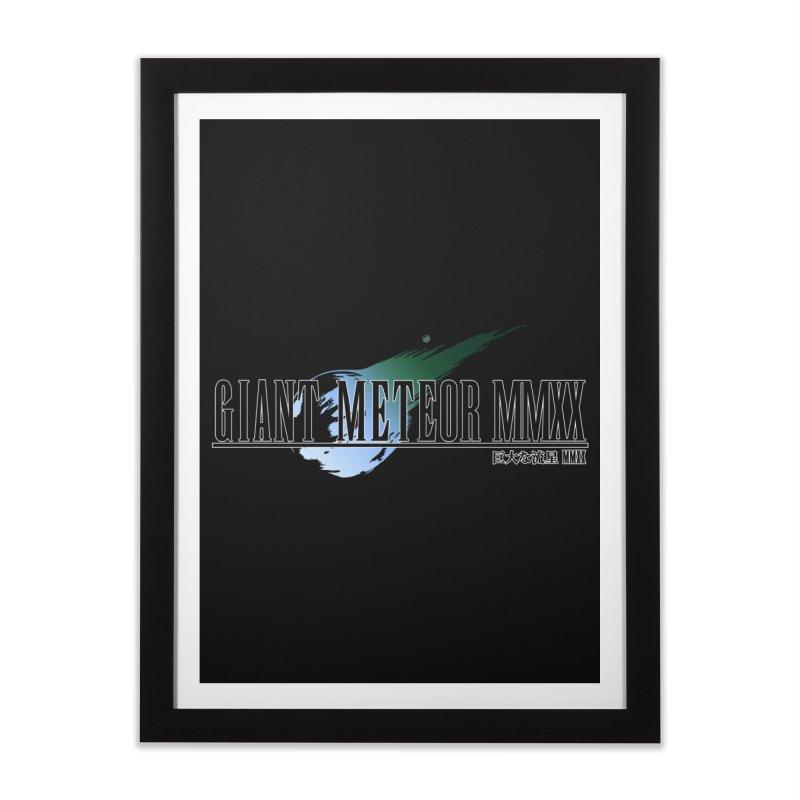Giant Meteor MMXX Home Framed Fine Art Print by FWMJ's Shop