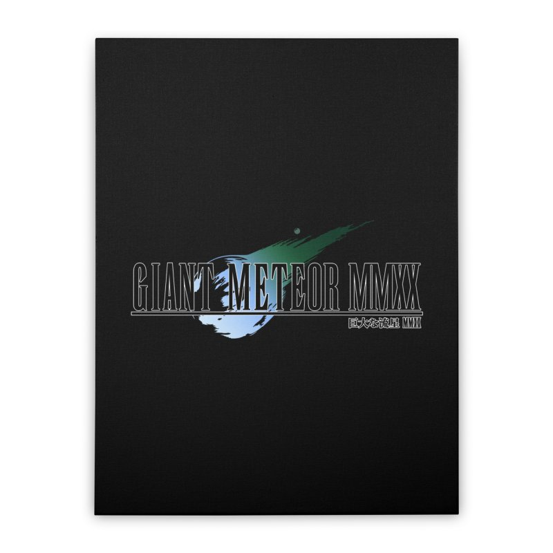 Giant Meteor MMXX Home Stretched Canvas by FWMJ's Shop