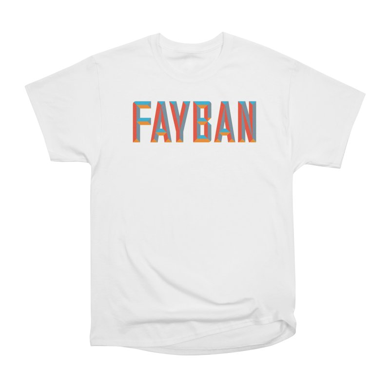 FAYBAN Men's Classic T-Shirt by FWMJ's Shop