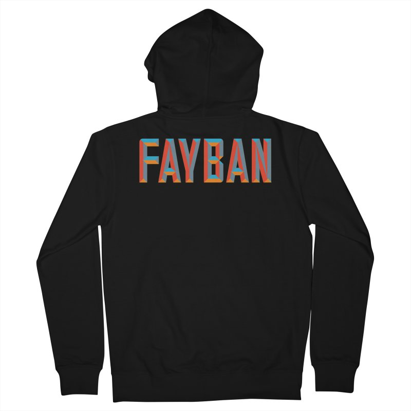 FAYBAN Men's Zip-Up Hoody by FWMJ's Shop