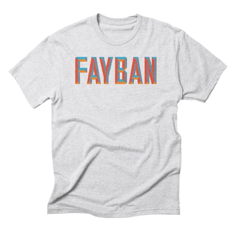 FAYBAN Men's Triblend T-Shirt by FWMJ's Shop
