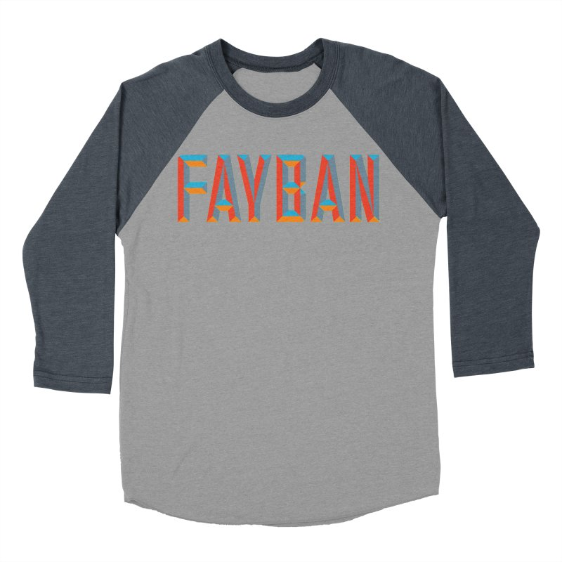 FAYBAN Women's Baseball Triblend T-Shirt by FWMJ's Shop