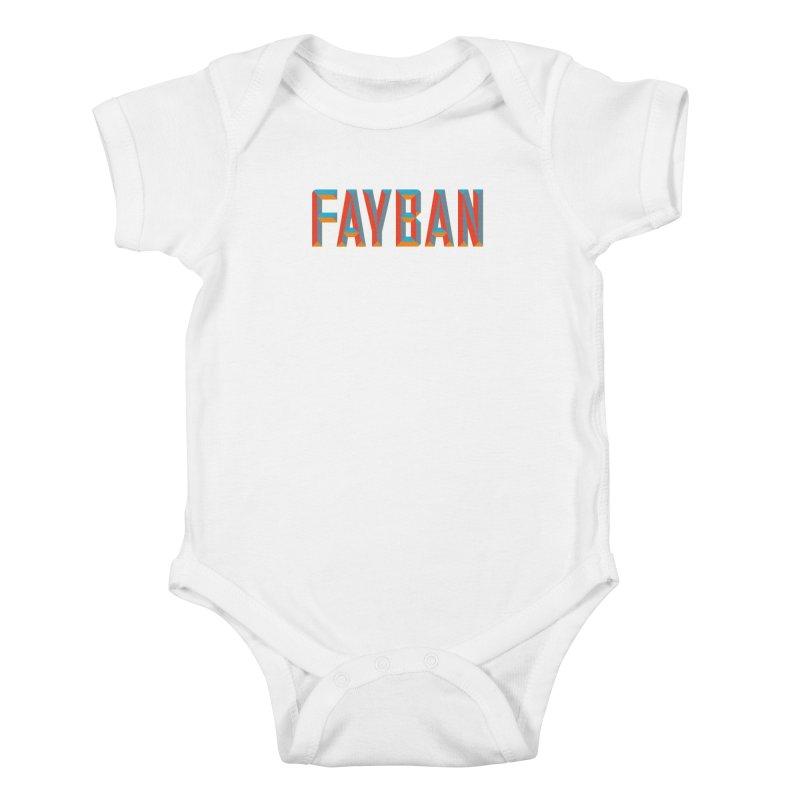 FAYBAN Kids Baby Bodysuit by FWMJ's Shop
