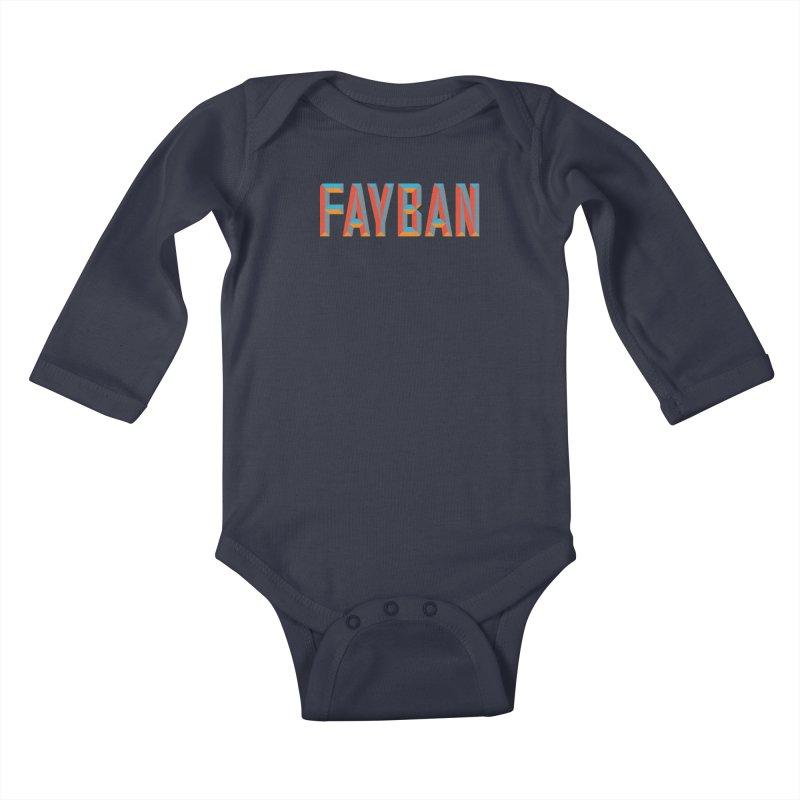 FAYBAN Kids Baby Longsleeve Bodysuit by FWMJ's Shop