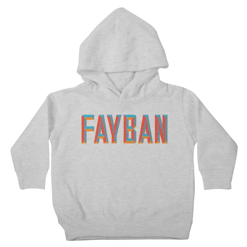 FAYBAN Kids Toddler Pullover Hoody by FWMJ's Shop