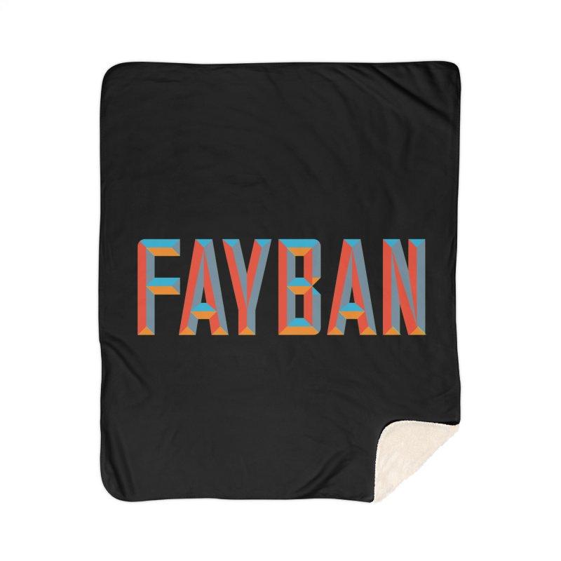 FAYBAN Home Sherpa Blanket Blanket by FWMJ's Shop