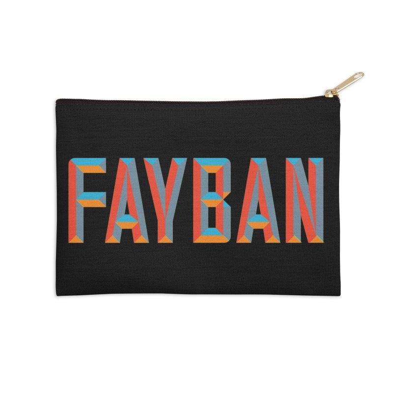 FAYBAN Accessories Zip Pouch by FWMJ's Shop
