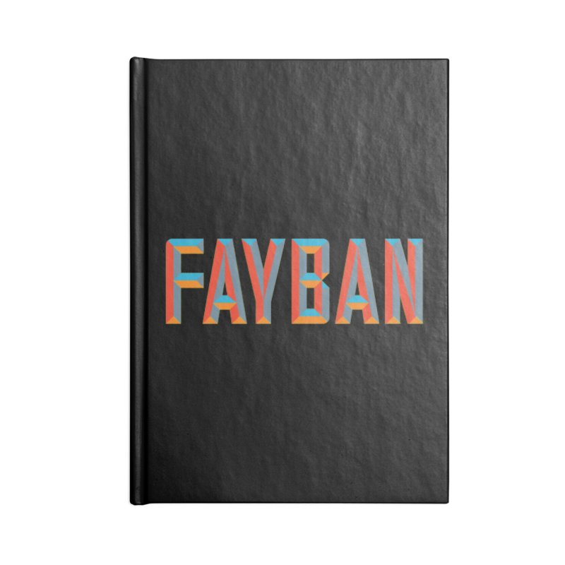 FAYBAN Accessories Notebook by FWMJ's Shop