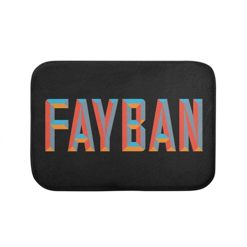FAYBAN Home Bath Mat by FWMJ's Shop