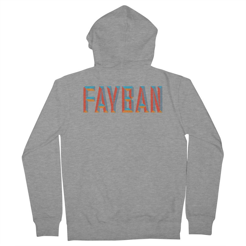 FAYBAN Men's French Terry Zip-Up Hoody by FWMJ's Shop