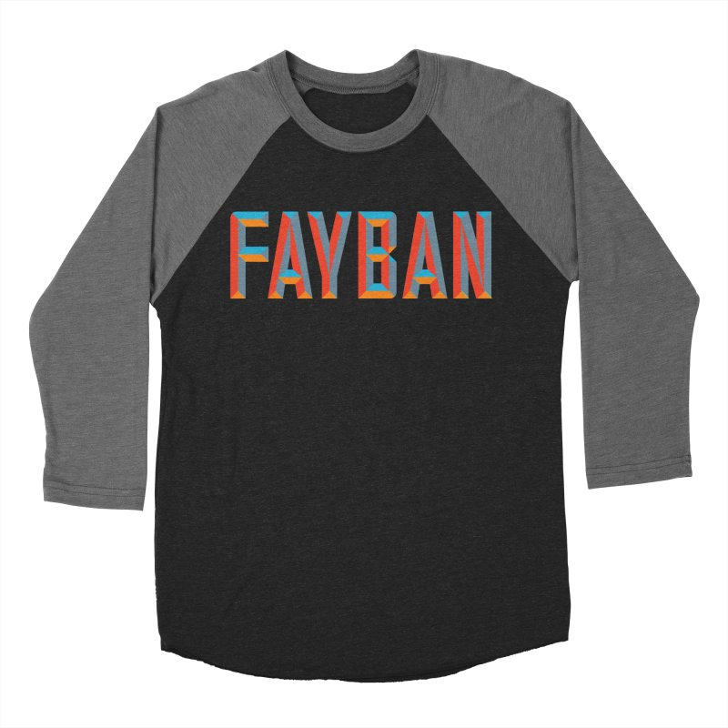 FAYBAN Women's Baseball Triblend Longsleeve T-Shirt by FWMJ's Shop