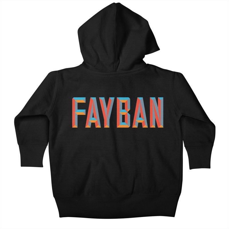 FAYBAN Kids Baby Zip-Up Hoody by FWMJ's Shop
