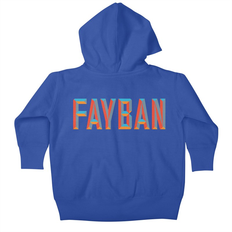 FAYBAN Kids Baby Zip-Up Hoody by FWMJ's Shop