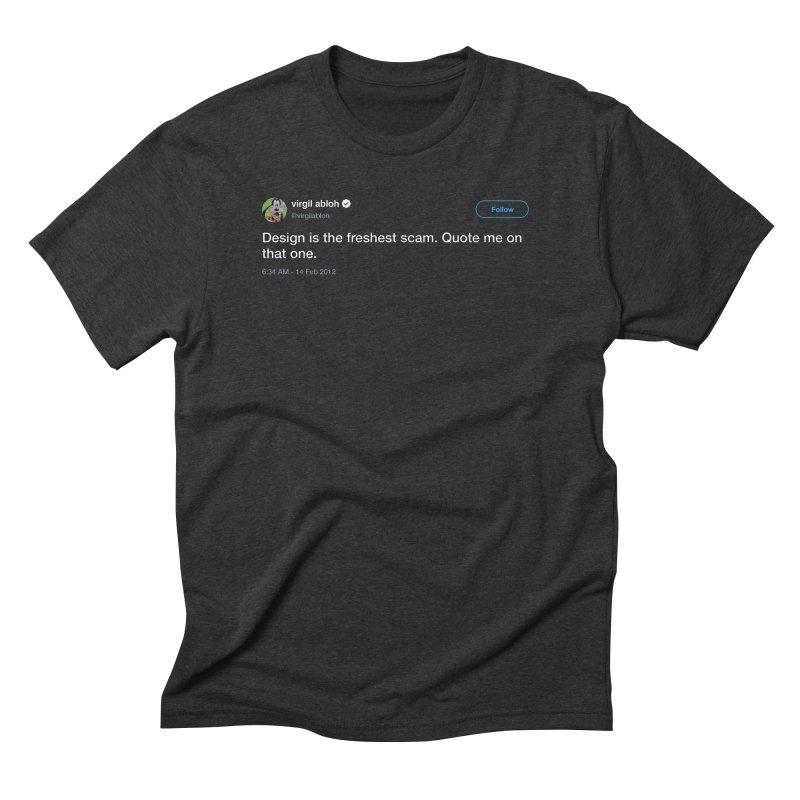 Troll God Men's Triblend T-Shirt by FWMJ's Shop