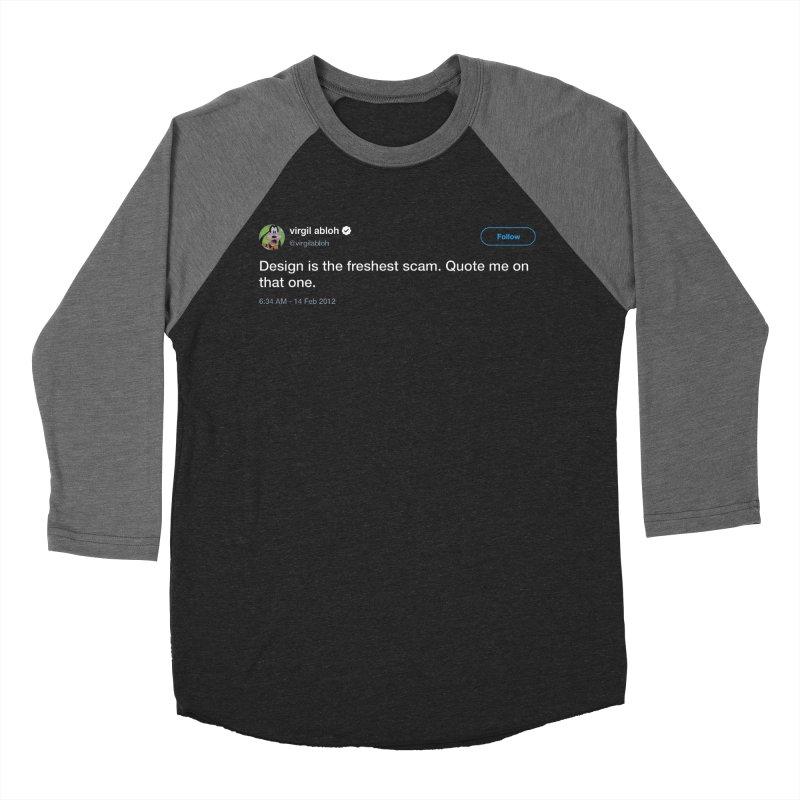 Troll God Men's Baseball Triblend T-Shirt by FWMJ's Shop