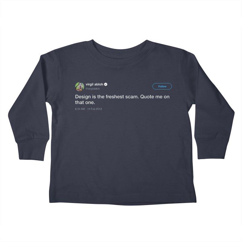 Troll God Kids Toddler Longsleeve T-Shirt by FWMJ's Shop