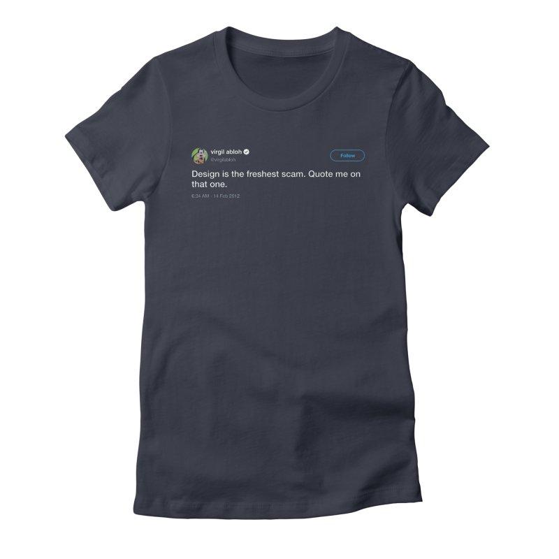 Troll God Women's Fitted T-Shirt by FWMJ's Shop