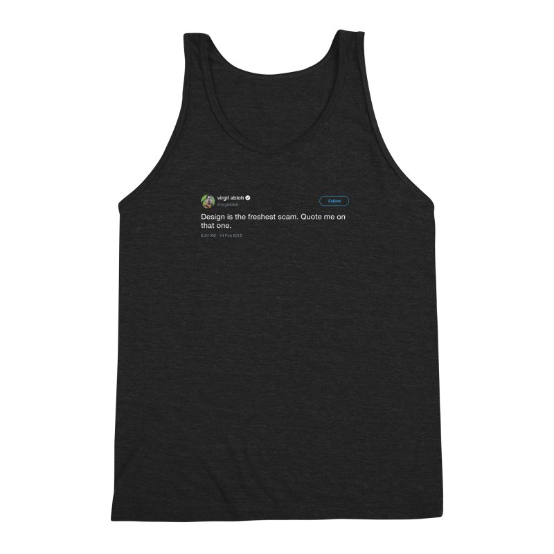 Troll God Men's Triblend Tank by FWMJ's Shop
